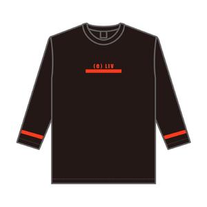 8分袖ビッグTシャツ(ブライトレッド)