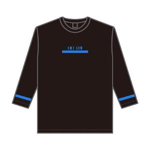 8分袖ビッグTシャツ(スカイブルー)